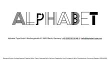 Alphabet Type logo and website