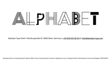 Alphabet Type logo and website