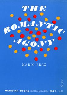 <cite>The Romantic Agony</cite>, Meridian Books editions