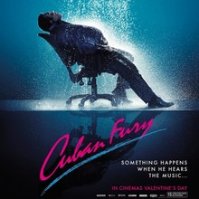 "<cite>Cuban Fury</cite> poster: ""Something happens when he hears the music"""