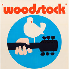 <cite>Woodstock</cite> movie posters