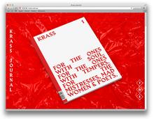 <cite>Krass Journal</cite> website