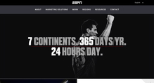World of ESPN website