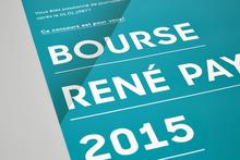 Bourse René Payot 2015