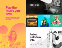 Spotify website(2015)