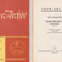 Chor-Archiv, Bärenreiter-Ausgabe 5133
