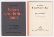 <cite>Neues Chorliederbuch</cite> byHugo Distler, Bärenreiter-Ausgabe 1057