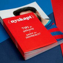 <cite>Nyskapt</cite> magazine and report