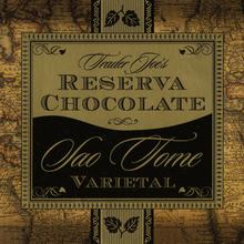 Trader Joe's Reserva Sao Tome Chocolate
