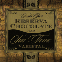 Trader Joe's Reserva Sao Tome Chocolate