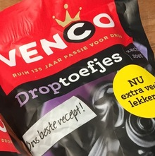 Venco licorice packaging