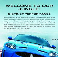 Jaguar XKR-S print ad