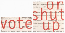 """""""vote or shut up"""": invitation to Communicating Arts Group Board election"""