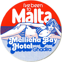 Mellieha Bay Hotel promo sticker