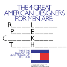 Tommy Hilfiger launch campaign and identity