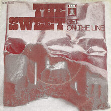 <cite>Get On The Line</cite> by The Sweet