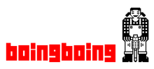 "<cite>Boing Boing</cite> ""Jackhammer Jill"" logo (1999–2009)"