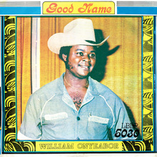 William Onyeabor – <cite>Good Name</cite> album art