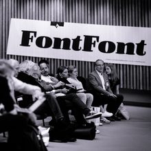FontFont banner at TYPO Berlin