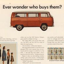 Volkswagen Station Wagon ad