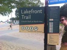 Chicago park signs