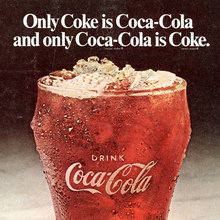 """It's the real thing."" Coca-Cola ad (1969 debut?)"