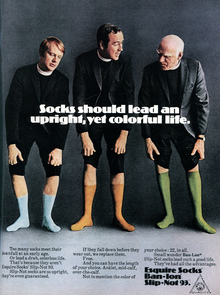 Esquire Socks Slip-Not 93 ad