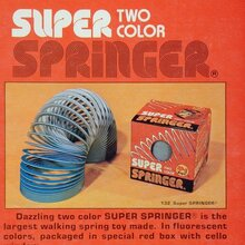 Two Color Super Springer ad
