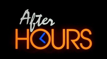 <cite>After Hours </cite>main titl