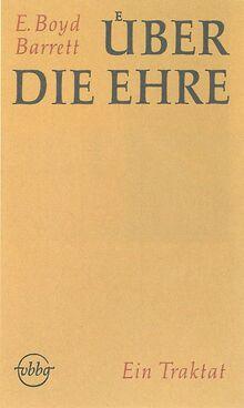 <cite>Über die Ehre: Ein Traktat</cite>
