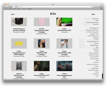 DJA website