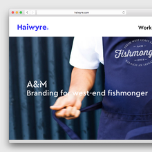 Haiwyre studio website