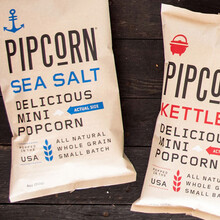 Pipcorn packaging