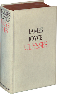 <cite>Ulysses</cite> by James Joyce, Random House