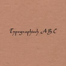 <cite>Typographisch ABC</cite> by Henri Friedlaender