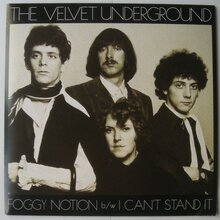 <cite>Foggy Notion / I can't stand it</cite> byThe Velvet Underground<cite></cite>