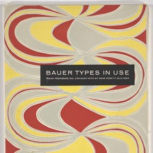 <cite>Bauer Types in Use</cite>