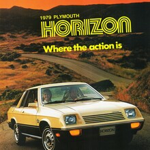 1979 Plymouth Horizon TC3 brochure