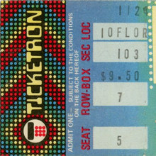 Ticketron logos (1973–1991)