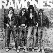 Ramones – <cite>Ramones</cite> album art