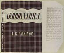 <cite>Aerodynamics</cite> by L. R. Parkinson