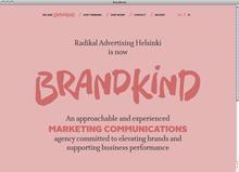 Brandkind website