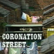 Coronation Street main title card (1970s)