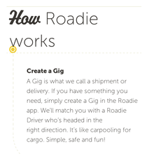 <cite>Roadie</cite> website