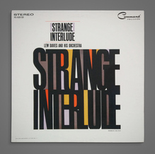 Lew Davies and His Orchestra – <cite>Strange Interlude</cite> album art