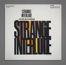 Lew Davies and His Orchestra – <cite>Strange Interlude</cite> album art