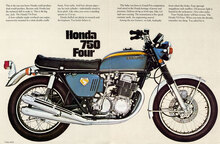 Honda 750 Four brochure
