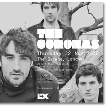 The Coronas <cite>Closer to You</cite> tour flyers