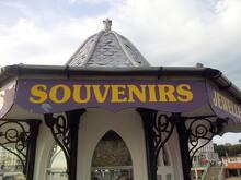Souvenirs stand, Brighton Pier, UK