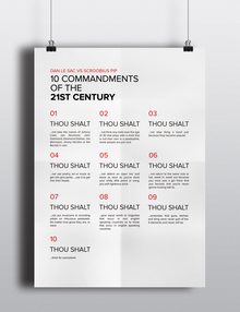 10 Commandments of the 21st Century